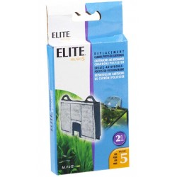Filtro Mochila Carbón Clip-On Elite Hush - 5 2Pc