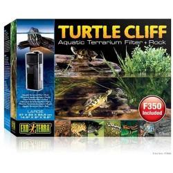 Filtro y Roca para Tortuga Turtle Cliff EXO TERRA - PEQUEÑA