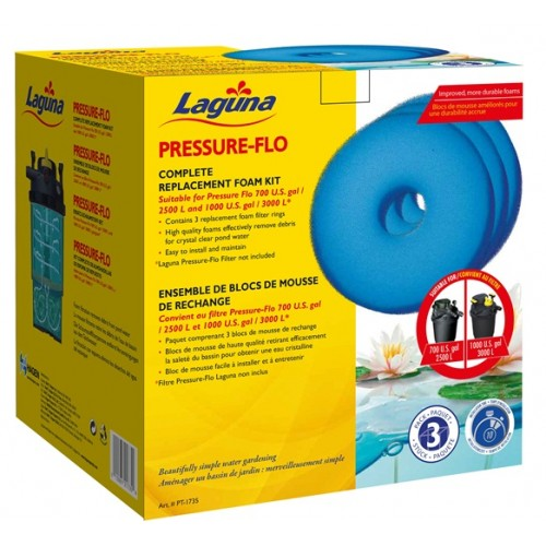 Pack de Esponjas para Pressure Flo LAGUNA