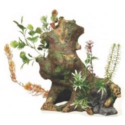 Ornamento Deco Wood  con Plantas MARINA - Jumbo