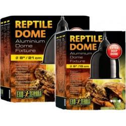 Portalámparas Reptile Dome Aluminio EXO TERRA - 21cmDiámetro