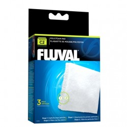 Cargas Filtrantes para Filtro Mochila Fluval C - Poliester/Foam C2