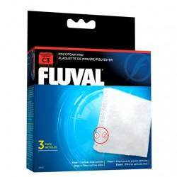 Cargas Filtrantes para Filtro Mochila Fluval C - Poliester/Foam C3