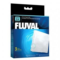 Cargas Filtrantes para Filtro Mochila Fluval C - Poliester/Foam C4