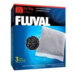 Cargas Filtrantes para Filtro Mochila Fluval C - Carbón C3
