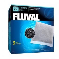 Cargas Filtrantes para Filtro Mochila Fluval C - Carbón C4