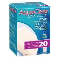 Cargas Filtrantes para Filtro Mochila AquaClear - Foamex 20