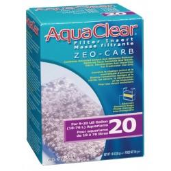 Cargas Filtrantes para Filtro Mochila AquaClear - Zeo Carb 20