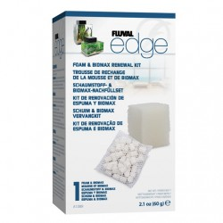 Carga para Fluval Edge - Foamex y Biomax
