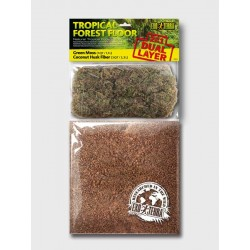 Sustrato de Doble Capa Forest Floor EXO TERRA - Tropical 4,4lts