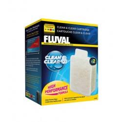 Cargas Filtro U Fluval - Clean & Clear