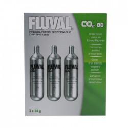 Kit de CO2 Presurizado Fluval - Recambio Grande 3 uds.