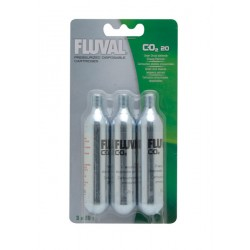 Kit de CO2 Presurizado Fluval - Recambio Mini 3 uds.