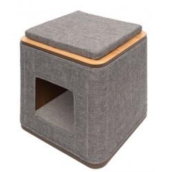 Mueble rascador Vesper Cubo y Vesper Tower - Cubo