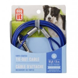 Dogit Cable Exterior Plastificado - 3m 22,7kg