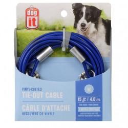 Dogit Cable Exterior Plastificado - 4,6m 22,7kg