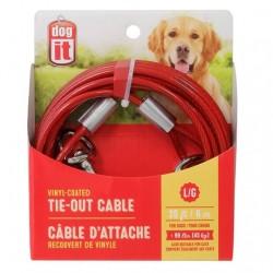 Dogit Cable Exterior Plastificado - 6m 45kg
