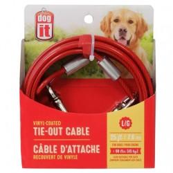 Dogit Cable Exterior Plastificado - 7,6m 45kg