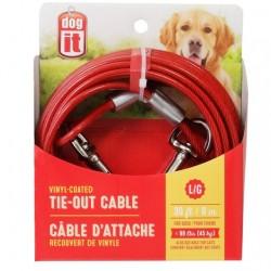 Dogit Cable Exterior Plastificado - 9m 45kg