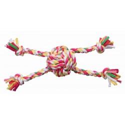 Pawise Mordedor Trenzado Multicolor  - Pelota Cuerdas 25,5cm