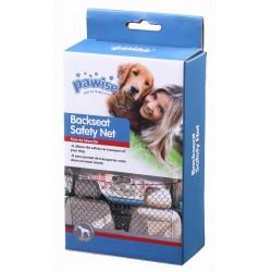 Pawise Protectores para maletero y asiento del coche - Red Seguridad 122x64cm