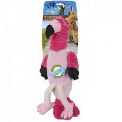 All For Paws Peluche Stretchy Flex - Flamingo Flexy Squeak 40cm