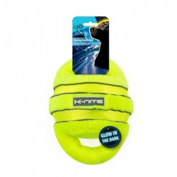 All For Paws Juguetes K-Nite Glowing Fluorescente - Handle Ball Brillante 28cm