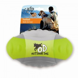 All For Paws Pelotas Out Door Dog - Rugby Verde 24cm