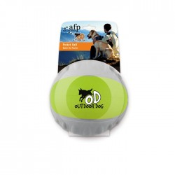 All For Paws Pelotas Out Door Dog - Pelota de Bolsillo Verde 6,6cm