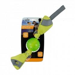 All For Paws Juguetes Tela Balistica - Ballistic TPR Toss - Naranja/Verde 51cm