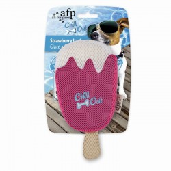 All For Paws Juguetes Hidratantes Chill Out - Helado de Fresa 20cm