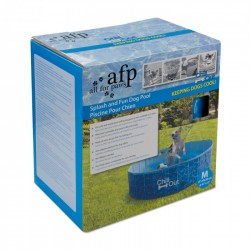 All For Paws Piscina Plegable para Perros Chill Out - M-120x30cm