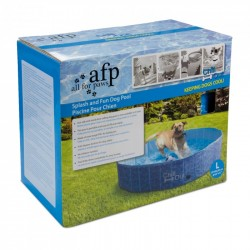 All For Paws Piscina Plegable para Perros Chill Out - L-160x30cm
