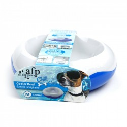 All For Paws Bebedero o Comedero Refrescante Chill Out - M-350ml
