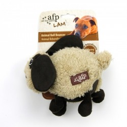 All For Paws Peluches Cuddle LAM Dog - Pelota Cuddle - Perro/Oveja/Caballo 15cm