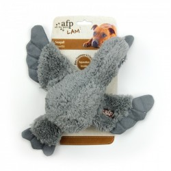 All For Paws Peluches Cuddle LAM Dog - Pajaros Cuddle - Marrón/Gris/Blanco 30cm