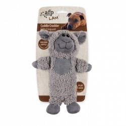 All For Paws Peluches Cuddle LAM Dog - Cuddle Crackler - Mono/Oveja/Caballo 27,5cm