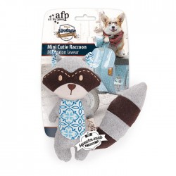 All For Paws Juguetes Vintage Peluches - Mini Cutie Mapache