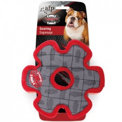 All For Paws Juguete Mighty Rex con Tela Balistica  - Engranaje 19cm