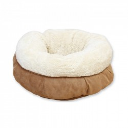 All For Paws Cama Donut Lam Cat   - Beige