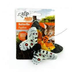 All FOR PAWS Animales de peluche NATURAL INSTINCTS - Pack Doble Mariposas 10,5cm