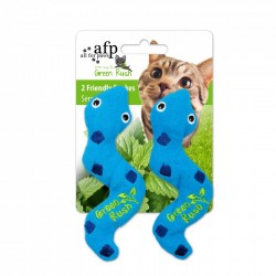 All For Paws Juguetes Para Gatos Green Rush Catnip Animales  - Serpiente 13,5cm