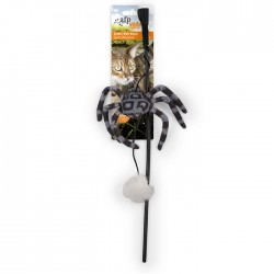 All For Paws Varitas para Gatos Natural Instincts Con Catnip - Varita Spider Web 43cm