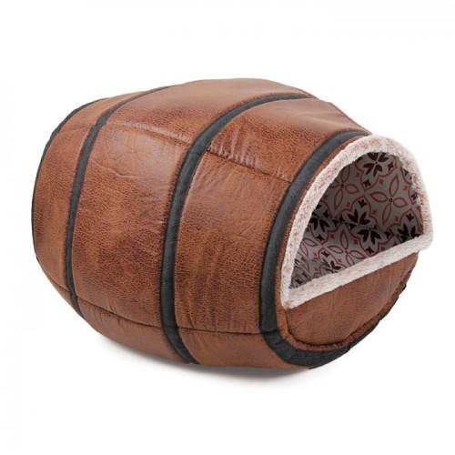 Cama Barril Cerveza Vintage 48x33x33cm