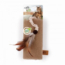 All For Paws Juguetes Wild & Nature Para Gatos  - Saco Pluma Hide & Seek 39cm