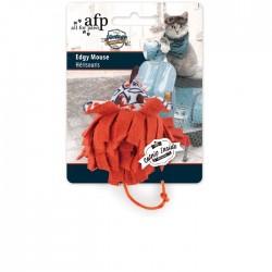 All For Paws Juguetes Vintage para Gatos con Catnip - Ratón Nervioso 9,5cm