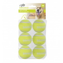 All For Paws Lanza Pelotas Hyper Fetch - Pelotas Maxi 6,5cm 6Pc