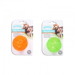 Pawise Juguetes TPR Squeaky con Sonido  - Pelota 6,5cm