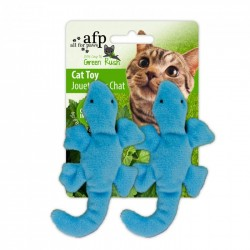 All For Paws Juguetes Para Gatos Green Rush Catnip  - Gekos 6cm