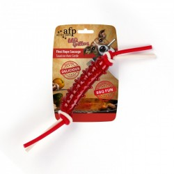 Juguete Masticable BBQ Grillers All For Paws - Salchicha Cuerda Flexi 39cm